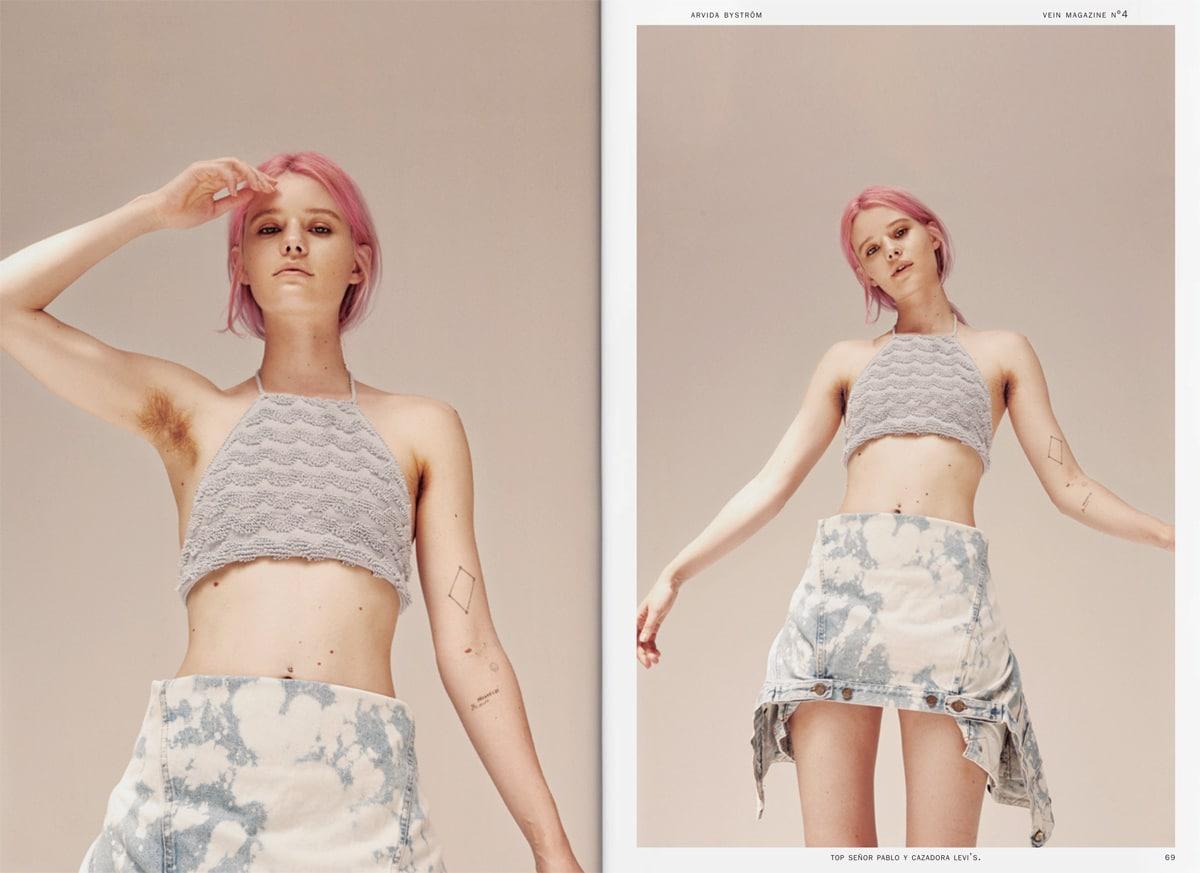 Fotógrafa, modelo ocasional, aspirante a cantante y activista.