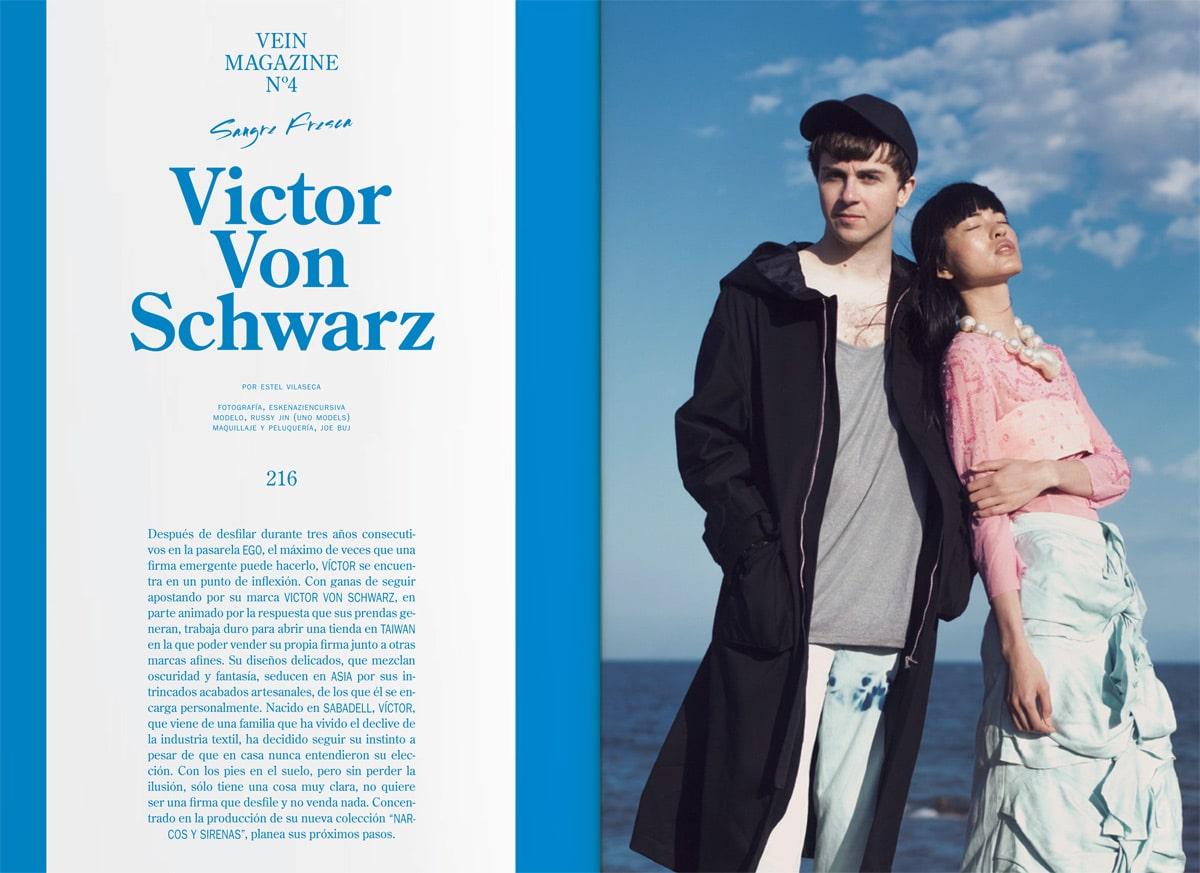 Hablamos con el diseñador Victor von Schwarz en nuestra sección #Sangrefresca