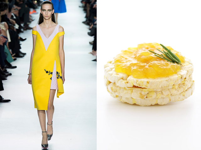 Christian Dior-Orange and rosemary jam