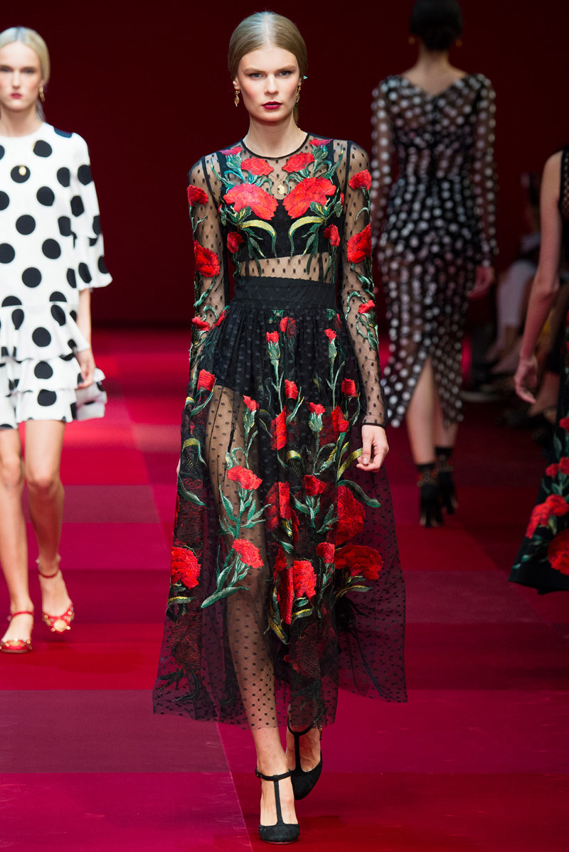 Dolce and Gabanna Spring Summer 2015 | VEIN
