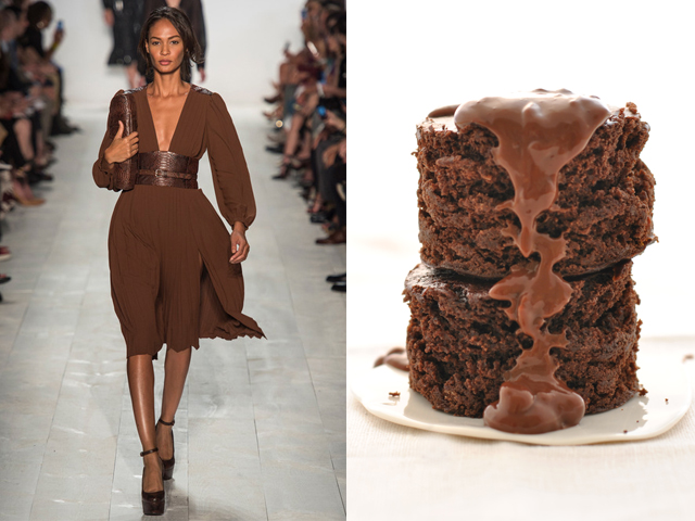 Michael Kors-Chocolate cake without eggs, milk and butter
