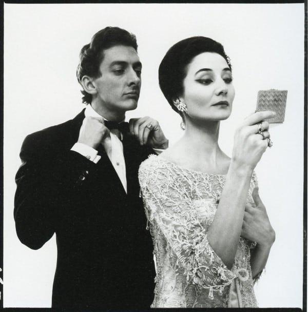 Jacqueline de Ribes and Raymundo de Larrain by Richard Avedon