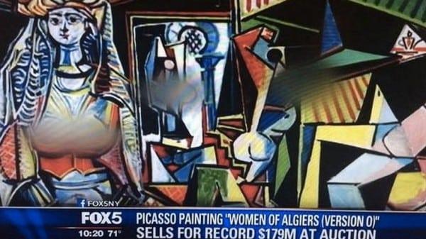 Las mujeres de Argel - Picasso