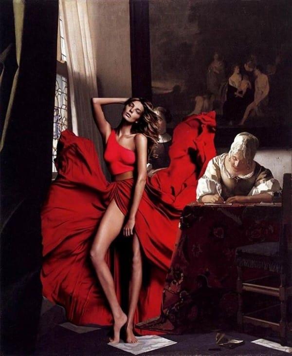 Daria Werbowy X Vermeer