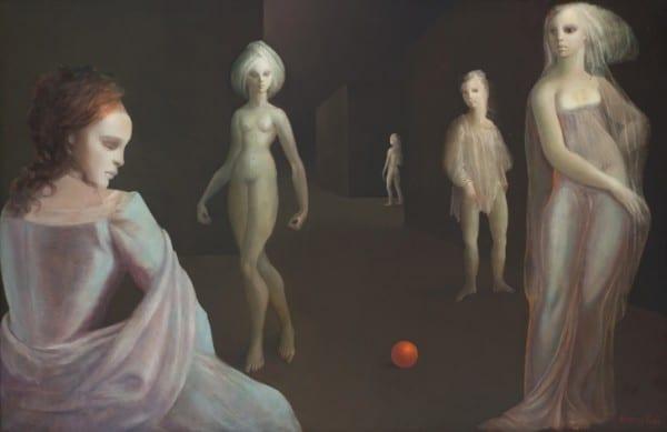 'Le Carrefour D'hecate', Leonor Fini (1977)
