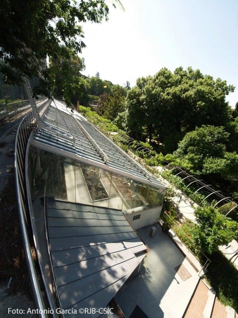 Invernadero de exhibición, Real Jardín Botánico
