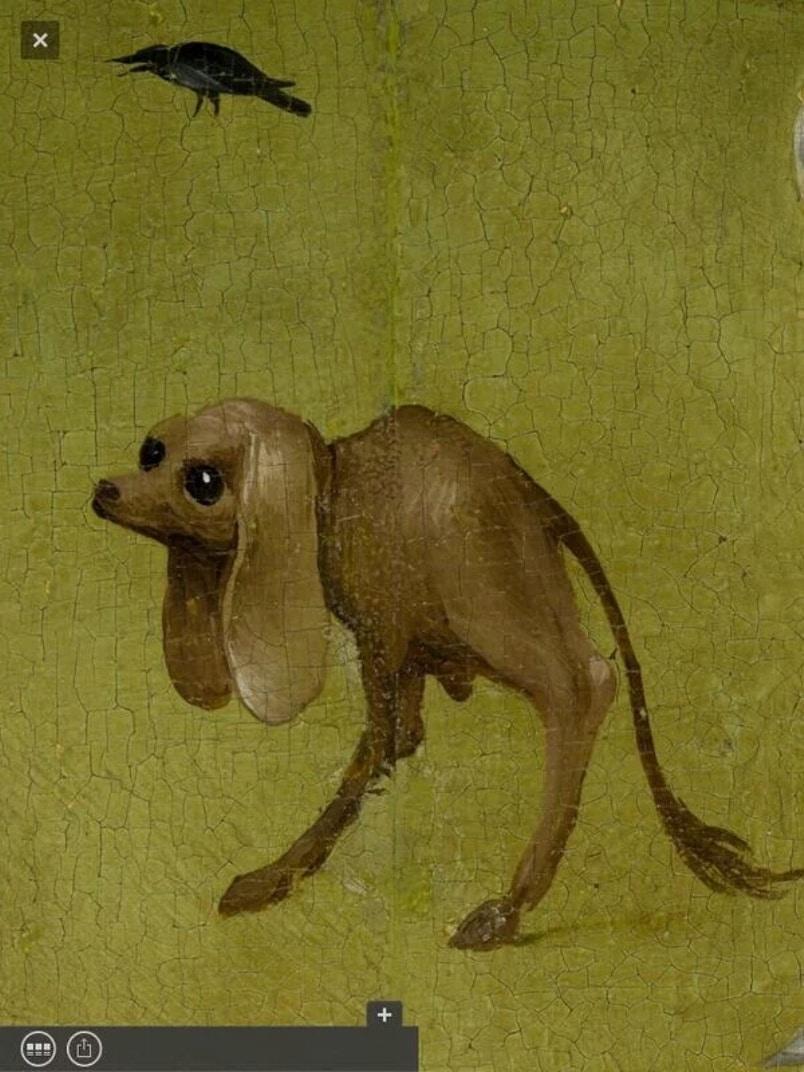 Second Canvas, El Bosco, El jardín de las delicias. Museo del Prado