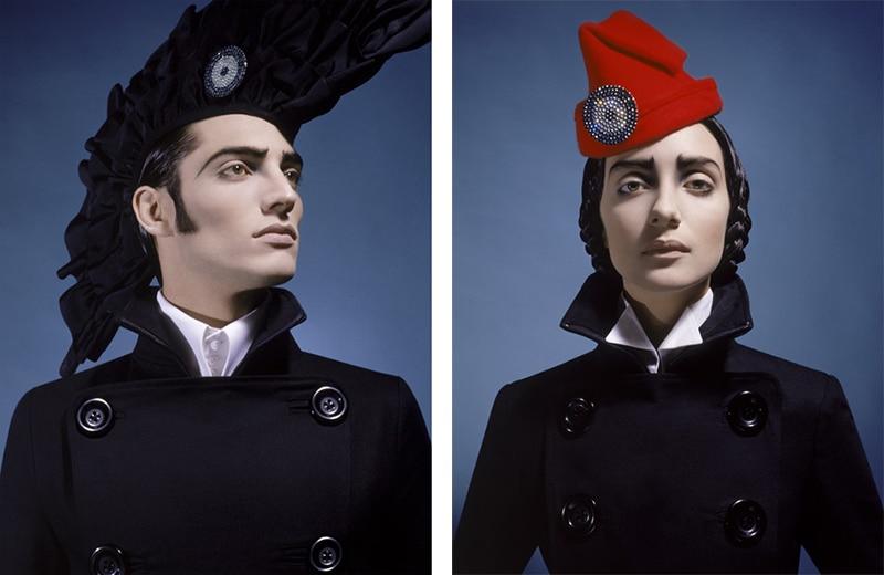 Campaña Patria. Modelos Franco Musso y Mariana Schurink (2002).
