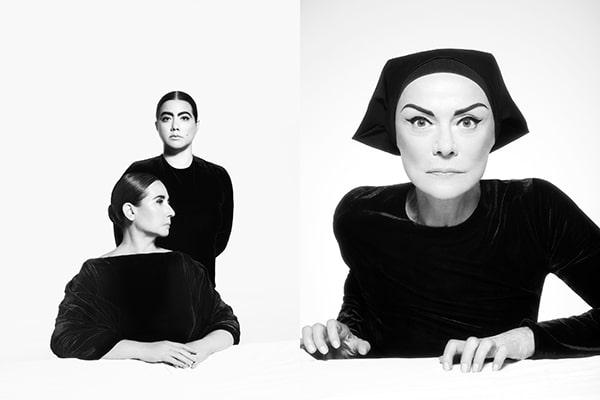Marisa Ramírez, Graciela Ramírez y Marilú Marini. Retratos Lorca, 2015.