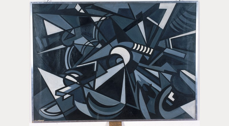 Emilio Vedova, L'urto, 1949-50 - vía ArtFund