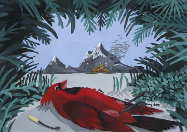 cardenal-fuego