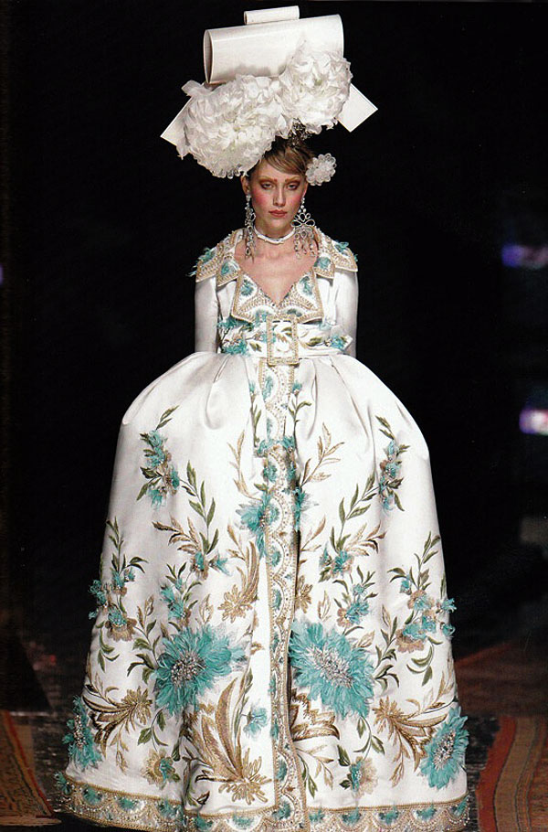 Dior by John Galliano, couture, spring 2005