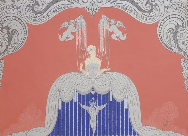 Costume pour Le Triomphe de la femme, 1926