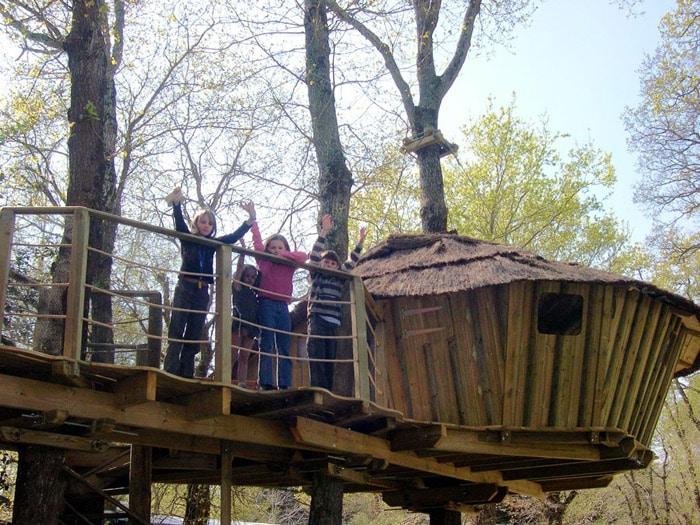 Un fin de semana en pleno bosque vein magazine - Fin de semana en cabanas de madera ...