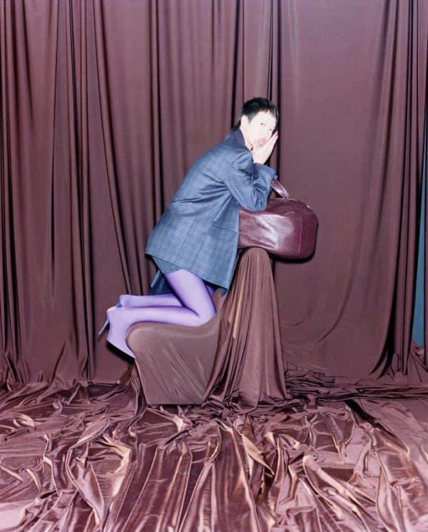 A visual from Balenciaga's new spring ad campaign.