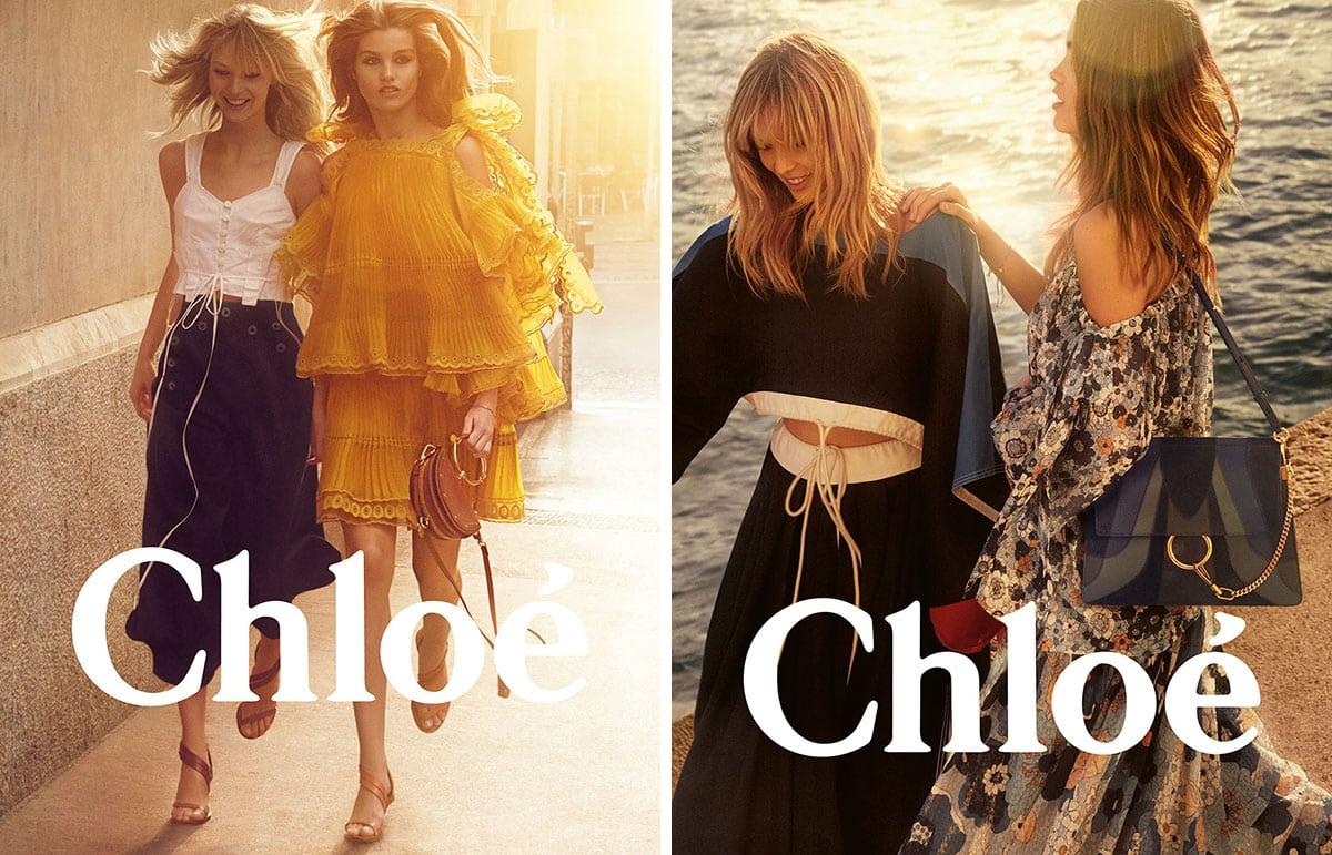 chloe spring 2017 fashion campaign