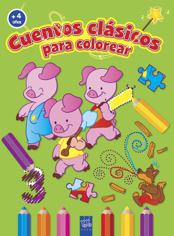 cuentos clasicos para colorear