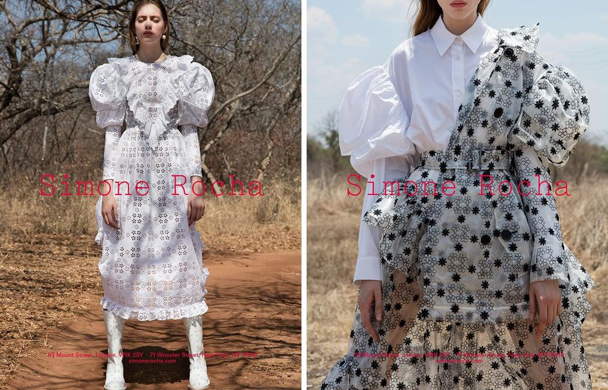 simone rocha spring 2017 campaign