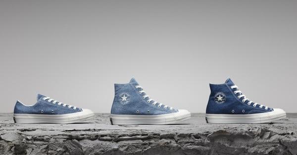 Las nuevas Converse son sostenibles y están hechas de jeans