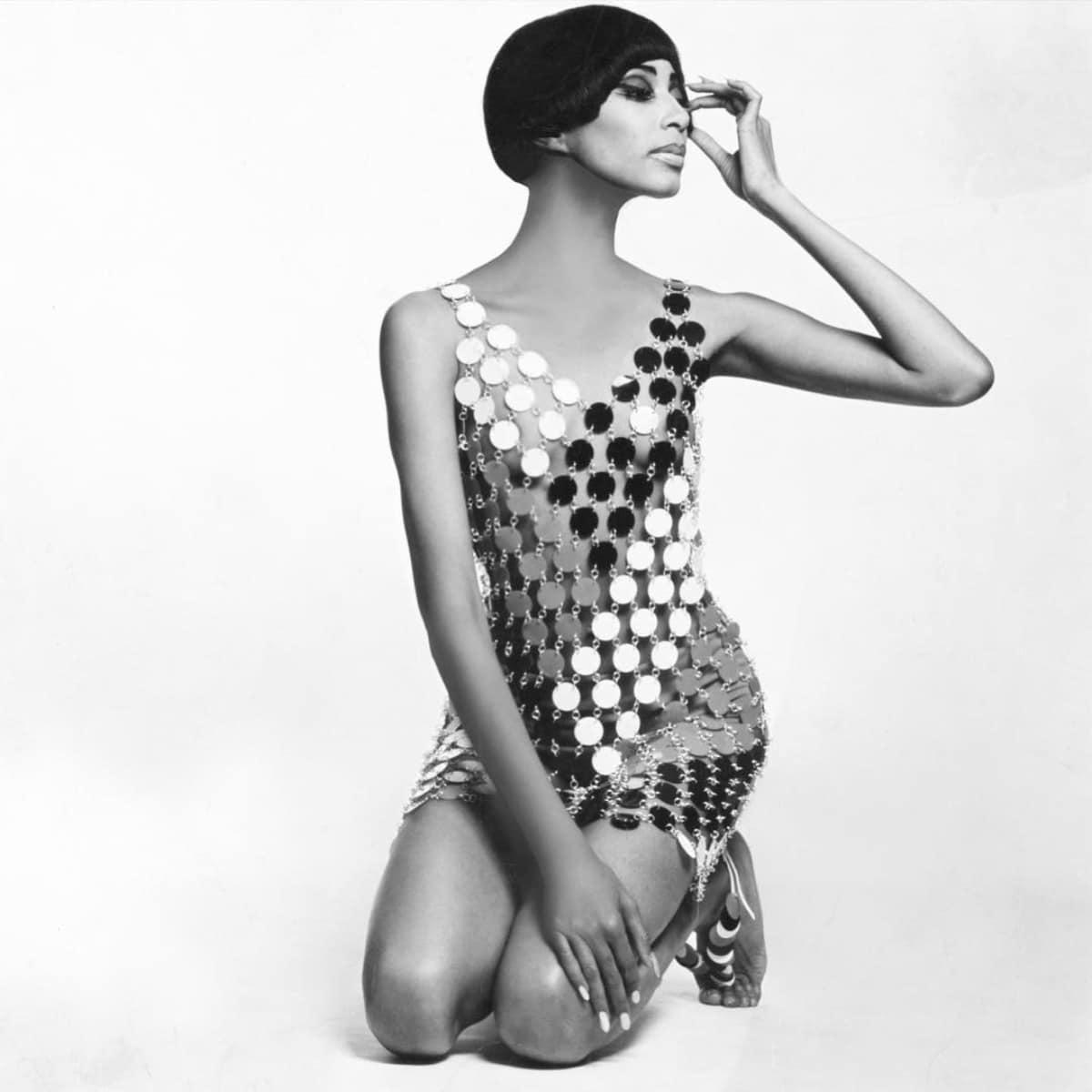 Donyale Luna fotografiada por Guy Bourdin en 1966